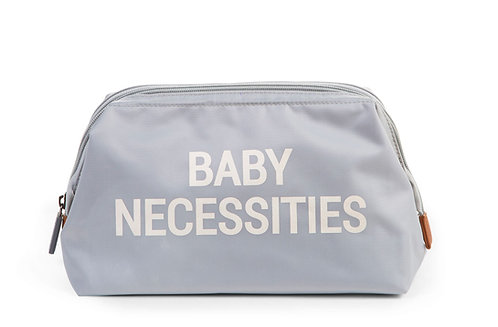 Childhome Baby Necessities Toiletry Bag Grey