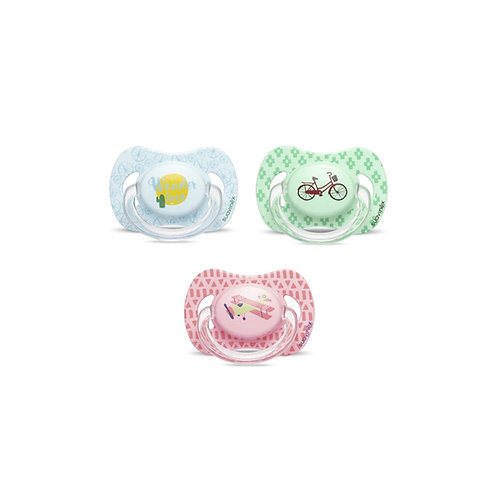 Suavinex Wanderlust Silicone Soother 0-6m