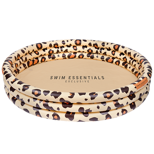 Inflatable Swimming Pool 150cm Beige Leopard