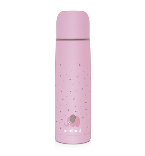 Miniland Liquid Flask 500ml Pink