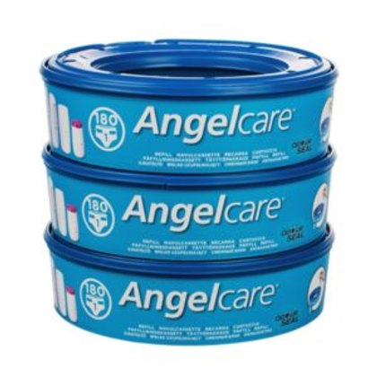 Angelcare 3 Pack Nappy Bin Refills