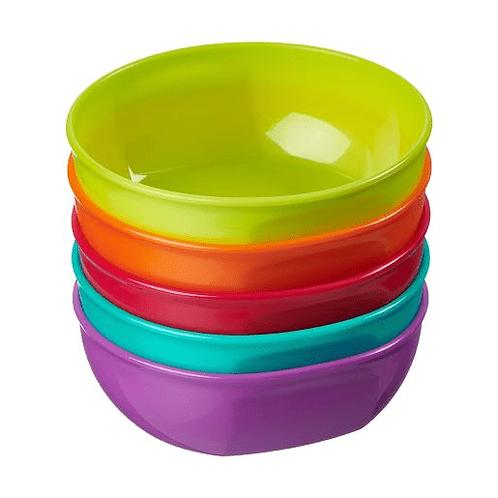 +6m Nourish Perfectly Simple Bowls 5Pk