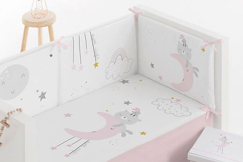 Bimbi Chic Bedding Set Night Pink