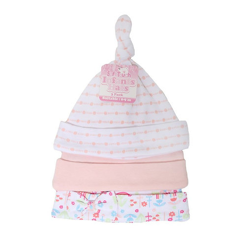 Baby Rainbow 3 Pack Hats