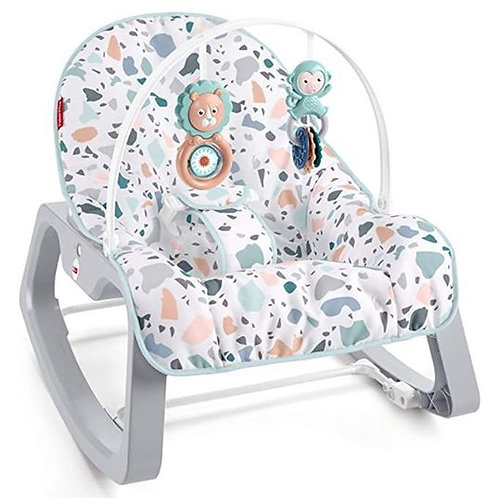 Fisher Price Infant-To-Toddler Rocker Terrazzo