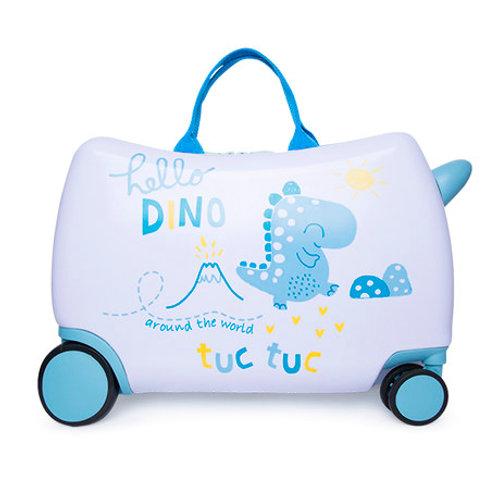 Tuc Tuc Travel Trolley Suitcase Hello Dino