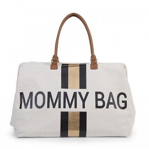 Childhome Mommy Bag Stripes Black Gold