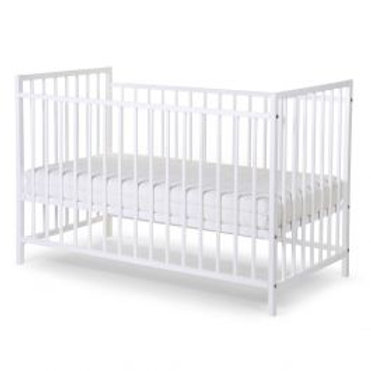 Childhome Ref 12 Beech White Cot