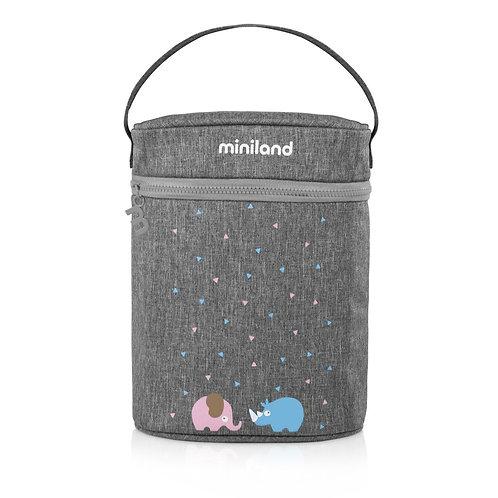 Miniland Thermibag Double Azure-Rose