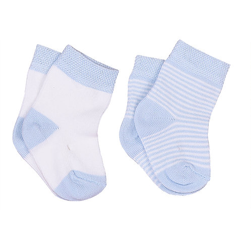 Kitikate Organic Socks Stripes 3-6m (2pcs)