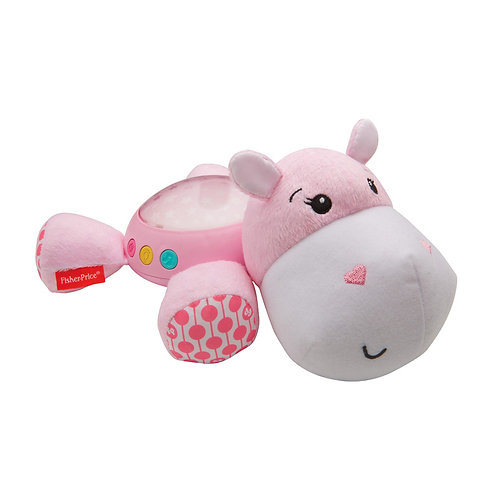 Fisher Price Hippo Projection Soother Pink
