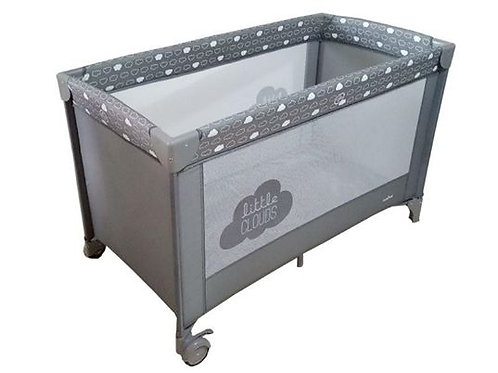 Olmitos Cloud Grey Travel Cot