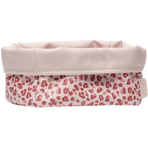 Bebe-jou Nursery Basket Leopard Pink