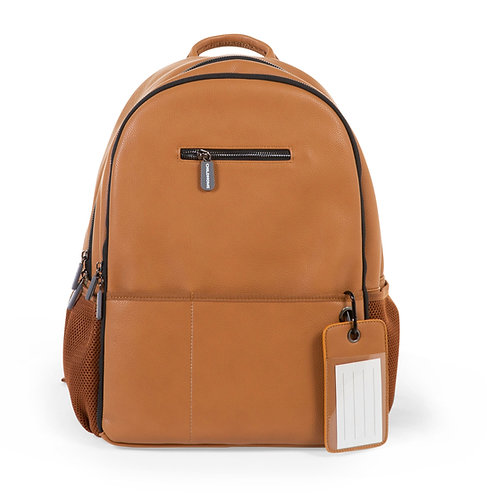 Childhome Backpack Leatherlook Brown