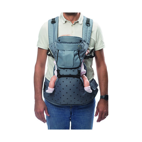Play Baby Carrier Grey Stars