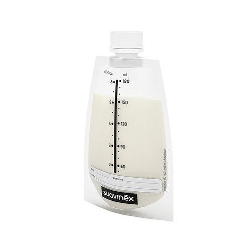 Suavinex Breast Milk Storage Bags with Lid 20pc