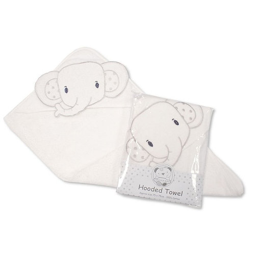 Baby Hooded Towel Elephant