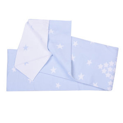 Organic Cotton Blanket Blue Stars