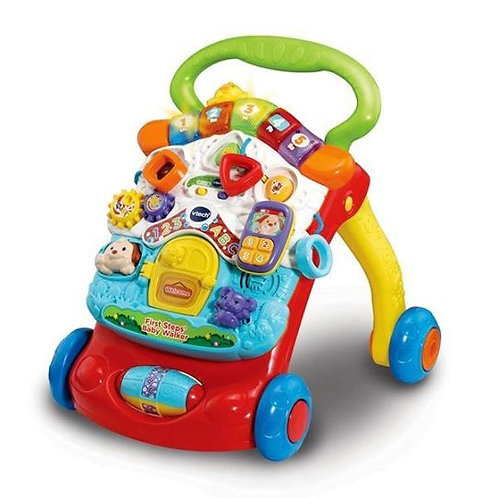 Vtech 2 in 1 First Steps Baby Walker Red