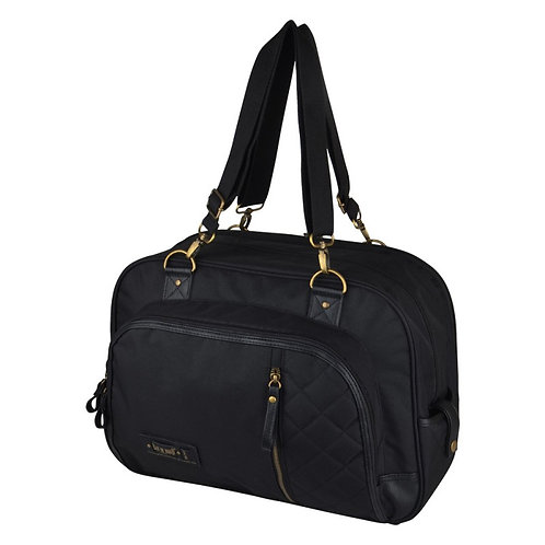 Baby on Board Paris Daily Black Baby Bag