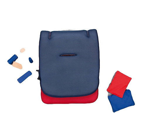Comfi Cool Blue/Red Stroller Mat