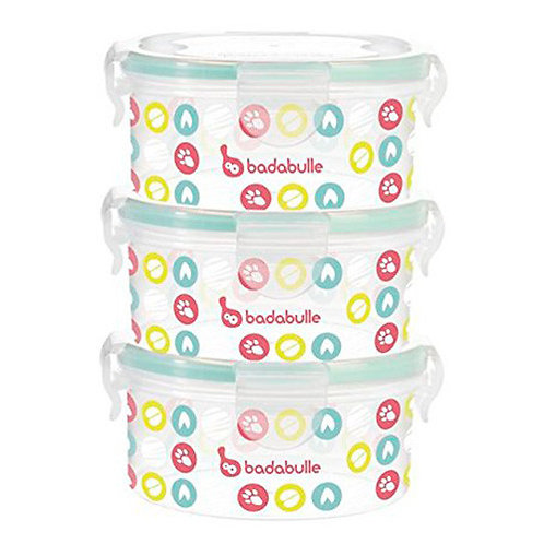 Badabulle Food Containers 3x300ml