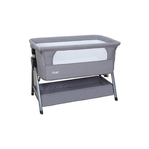 Bedside Crib Co-sleeper Grey