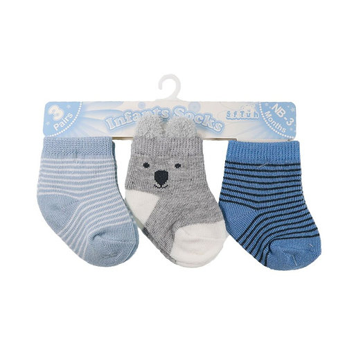 Baby Socks 3 Pairs Stripe