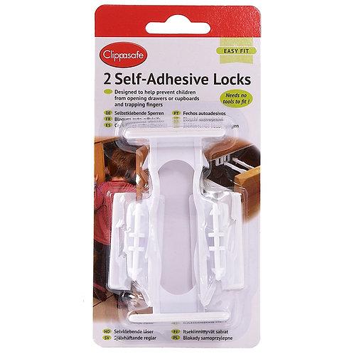 2 Self Adhesive Locks