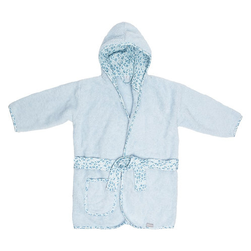 Bebe-jou Bathcape Leopard Blue