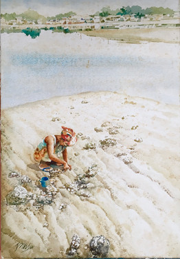 TREASURE HUNT, 1988, Watercolour