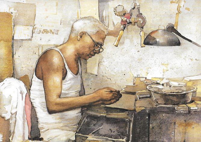 psw postcard2 - Indian Goldsmith.jpg