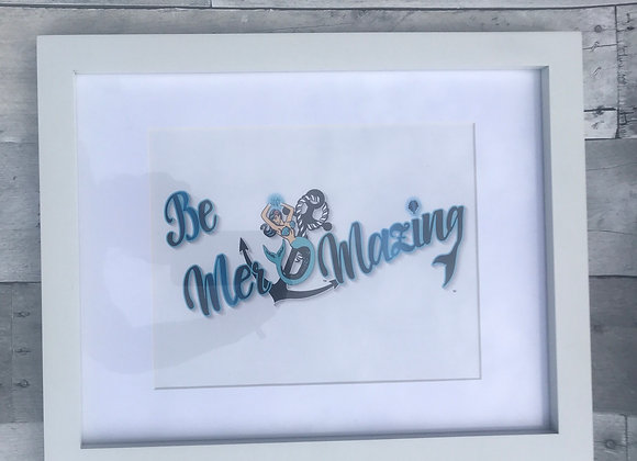 Be Mer-mazing Large Picture Frame