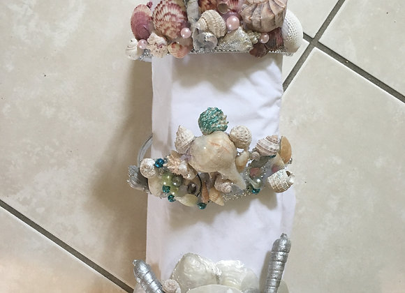 Mermaid Shell girl crowns