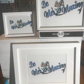 Be Mer-Mazing Frame 8X10