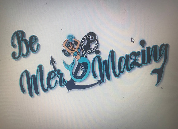 Be Mer-mazing T back shirts older logo style