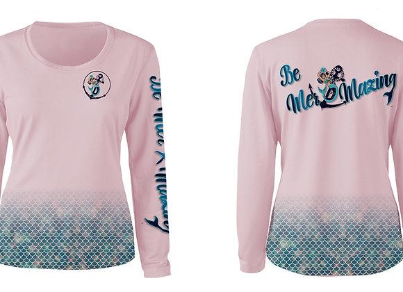 Pink Be Mer-mazing SPF woman's shirt