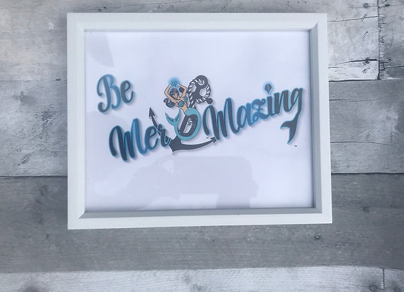 Be Mer-mazing Med Picture Frame