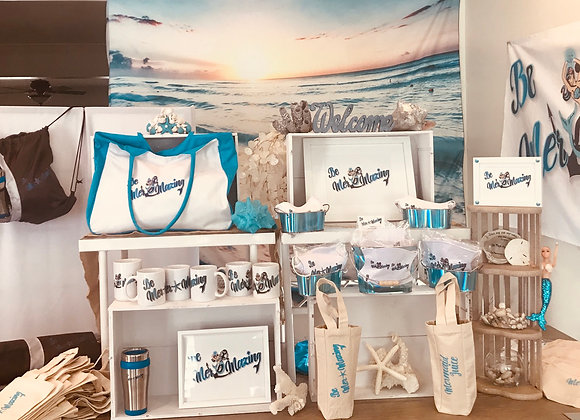 Surf Expo new mugs & wine tote
