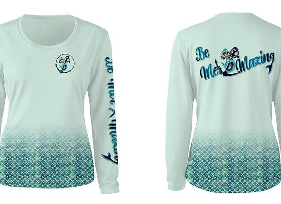 SPF wet/dry women's sports apparel