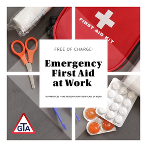 Free Emergency First Aid at Work Course