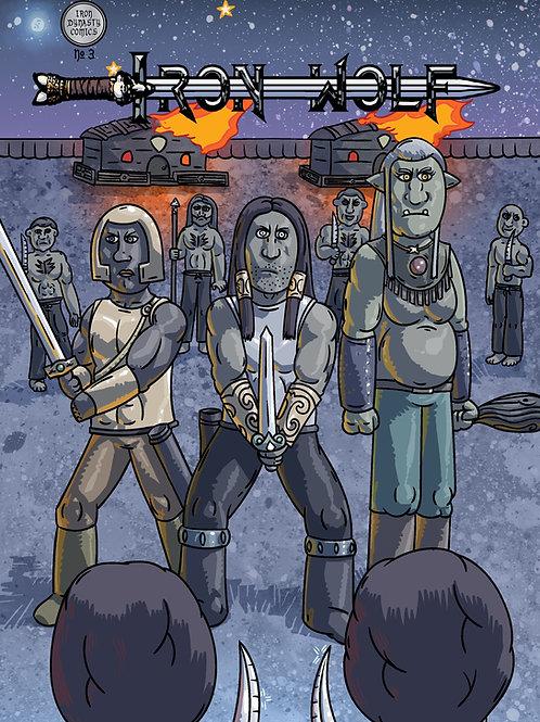 Iron Wolf #3 Comic