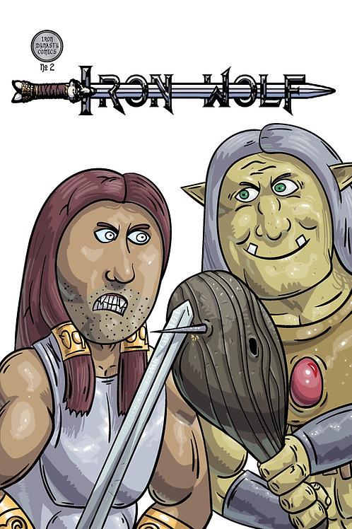 Iron Wolf #2 Comic