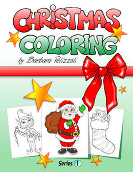 ChristmasColoringPagesSeries1BookFrontCo