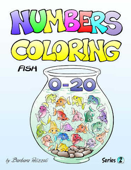 NumbersColoringPagesSeries2FishBookFront