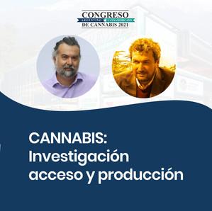 Congreso de Cannabis 2021: Investigación, acceso y producción