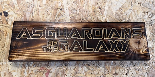ASGUARDIANS OF THE GALAXY SIGN