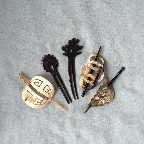 Handcrafted Horn Hair Clip