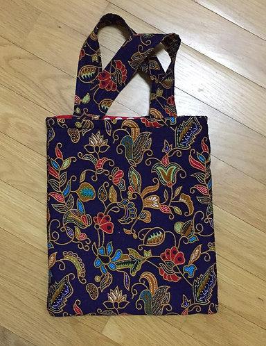 Reversible Cotton Tote Bag