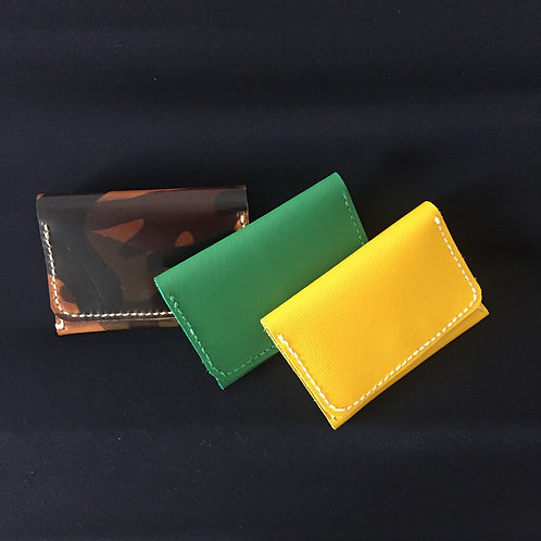 Full Leather Card/Coin Holder